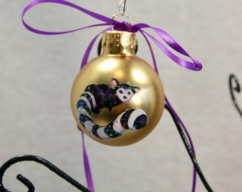 """Glass Hand Painted Ornaments 1.5"""""""