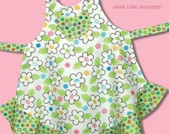 Sassy Little Sister Child's Apron Pattern