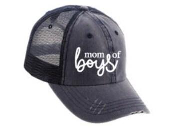 Mom of Boys/Girls Hat