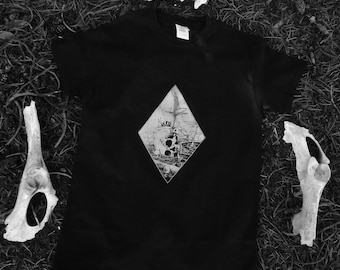 Occult Shirt | Wicca | Witchy | Nature Inspired | Esoteric | Nu Goth | Gothic Fashion | Pastel Goth | Tumblr Aesthetic || RECLAIMED