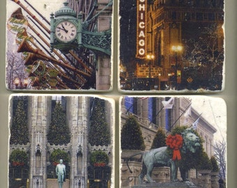 Christmas in Chicago Collection - Original Coasters