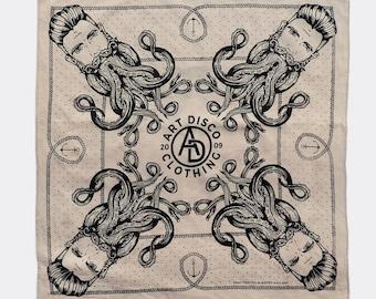 Stone 'Neptune' Bandana by Art Disco