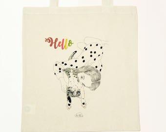 Greener Everyday - Organic cotton tote bag
