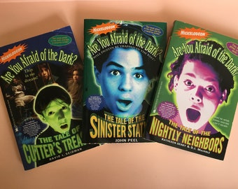 1995 Nickelodeon TV series Are You Afraid Of The Dark? - The Mystery Files of Shelby Woo - young adult tween novels - Vaicom International