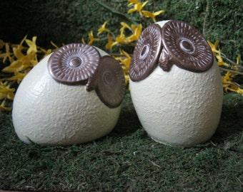 Owl Statues, Wide Eyed Owls, Concrete Owls, Owl Figures, Home And Garden Decor, Cement Statuettes, Cast Stone Birds, Concrete Bird, Yard Art