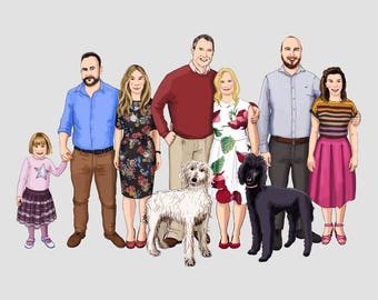 Family Portrait up to 9