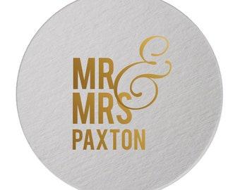 Wedding Coasters, Personalized Coasters, Custom Wedding Coasters, Custom Coaster, name coaster, Personalized Wedding Favor, Coasters 212