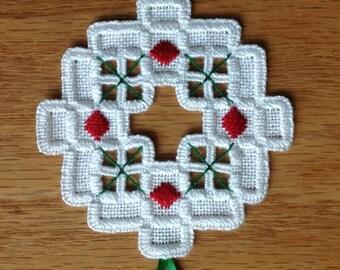 NEW 2013 Hardanger Holiday Ornament
