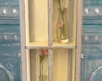 Painted Vintage Wooden Box