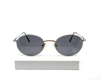 HIGHWAY Round Metal New Vintage Sunglasses - Original Vintage - 90s - New old stock
