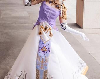 Princess Zelda Cosplay Costume from the Legend of Zelda, Halloween costume