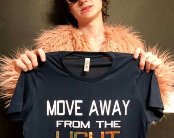 Move Away From The Light EKG T-shirt