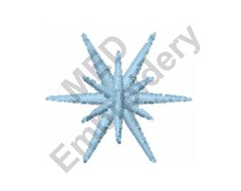 Star -  Machine Embroidery Design, Star Burst