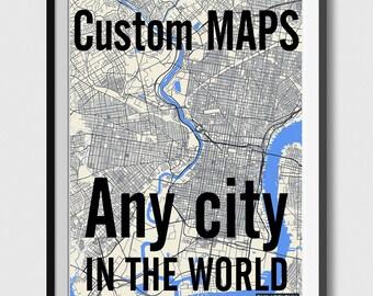 Any City in The world - Custom City Map