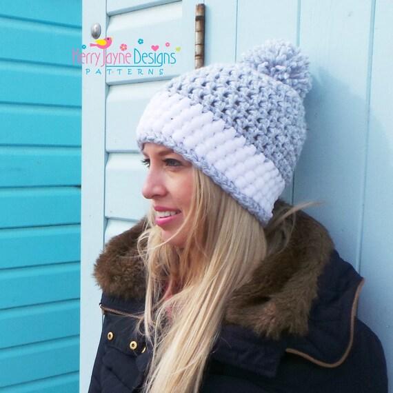 WOMENS CROCHET Hat PATTERN crochet hat pattern Winter hat
