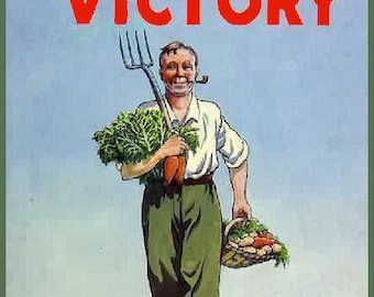 cool gardening dig for victory propaganda propoganda war nationalism liberty grow food green fingers i love nature outdoors green veg TSHIRT