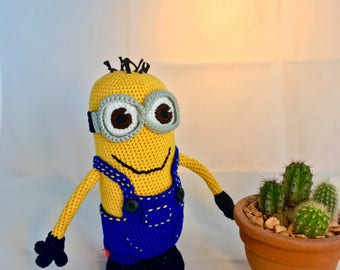 "Crochet minis ""Kevin"" from the Terrible (Despicable Me)"