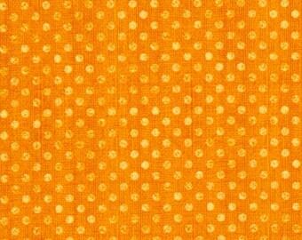 Yardage, Essentials Dotsy in Orange, Wilmington Prints Fabric, Basic Fabric, Blender Fabric
