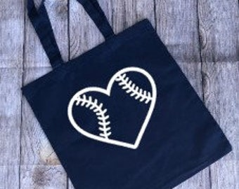 Baseball Tote, Baseball Bag, Baseball Mom Bag, Baseball Mom Tote