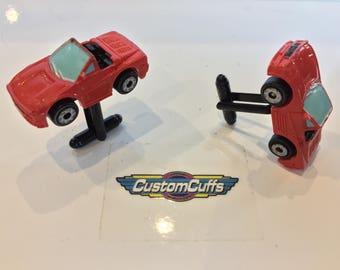 Ferrari Testarossa -  Vintage Micro Machine Car Cufflinks. Perfect Christmas Gift