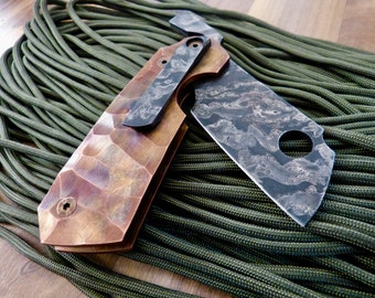 Pocket Cleaver Copper Scales