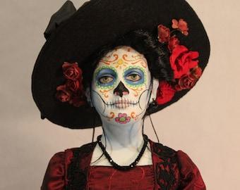 Jour de la poupée d'art Catrina morts par William Bezek