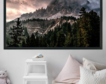 Printable Large Wall Art Office Decor Home Decor Gift For Men Landscape Photography Gift For Her Mountain Print Lake House Decor Forest