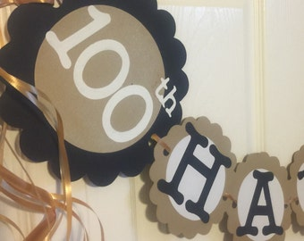 100th Birthday Party Decorations Personalization Available