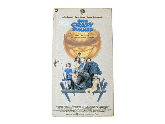 One Crazy Summer VHS