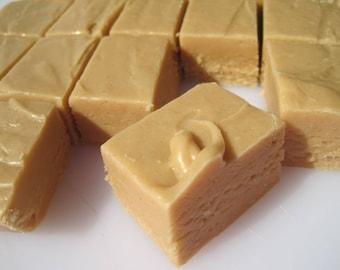 Homemade Peanut Butter Fudge/ 1/2 Pound/ Creamy Fudge/ Candy/Homemade Candy/Fathers Day, Mothers Day, Party Treat, Edible Gift, Dessert