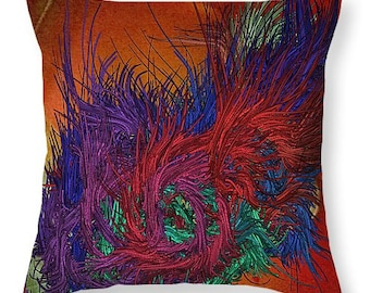 Waters of Life Pillow Cover