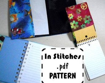 Journal Cover PDF Pattern EASY Instructions-Tutorial to Cover any Album or Notebook