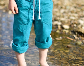MBJM High Tide Trousers PDF Sewing Pattern (Prem./Small Newborn - Age 12)