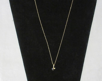 Matching Pendant Necklace and Earring Set