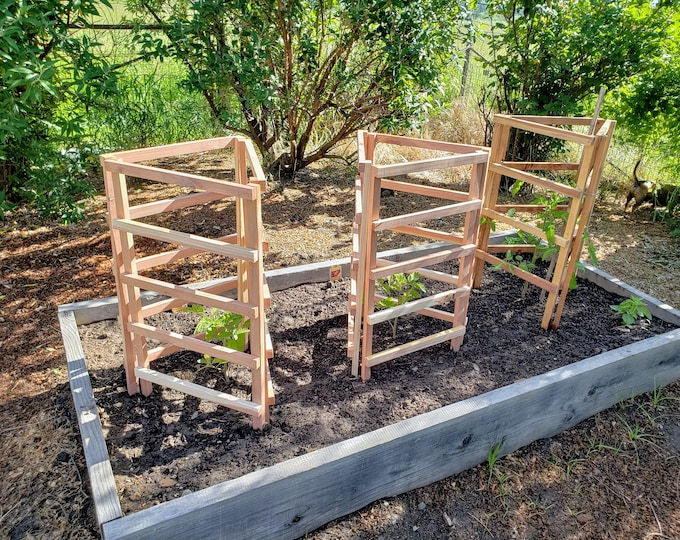 Featured listing image: Tomato Plant Trellis Two Pack