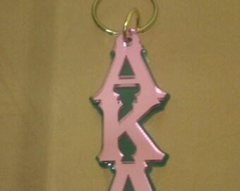 Alpha Kappa Alpha- Large Letter Mirror Keychain