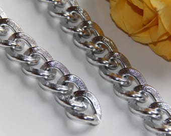 20 cm of chain mesh silver