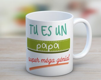 Custom mug you are / will be a(n)... super mega awesome (e)