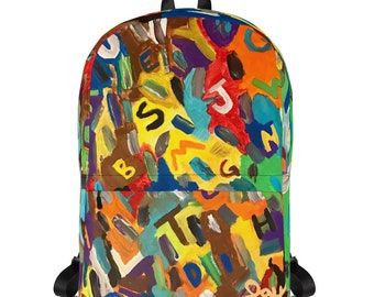 English Alphabet Backpack