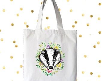 SALE Badger tote bag