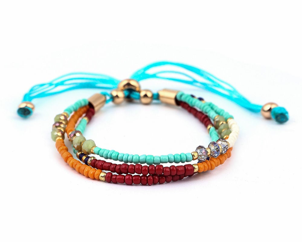 holiday hot bracelets weaving bracelet friendship boho bohemian shell beach selling women bangle summer woven store for product
