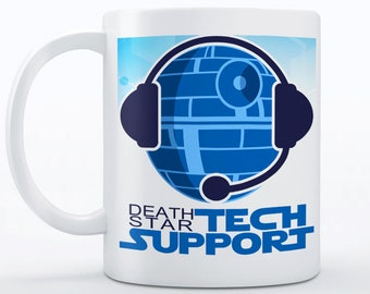 Tech Support Mug - Funny Mug - Funny Coffee Mugs, Birthday Gifts for Him - Geek Gifts for Men, Boyfriend Gift - Funny Office Gift, Geek Gift