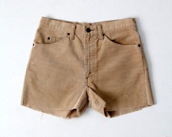 vintage Levi's corduroy shorts, cord cut offs