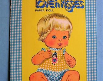 Vintage Book Vintage Tender Love'n Kisses  Paper Doll Book A Whitman Book 1978 Vintage Paper Dolls