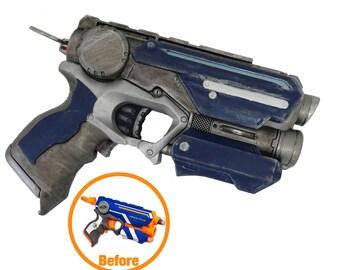 Custom Nerf style SF metallic blue