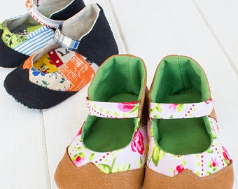 Gabriella Baby Shoes PDF Sewing Pattern (#743)