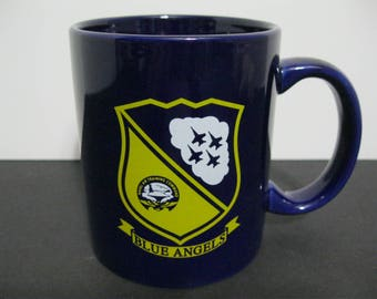 Blue Angels Coffee Mug, Naval Air Training Command Mug, US Navy Mug