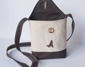 Personalized Cross Body Bag, Messenger Bag
