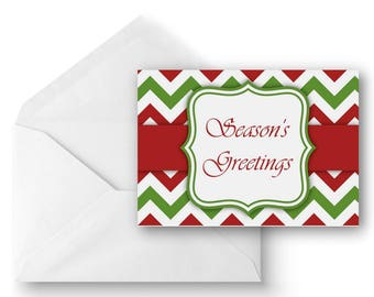 Merry Christmas, Season's Greetings - Greeting Card