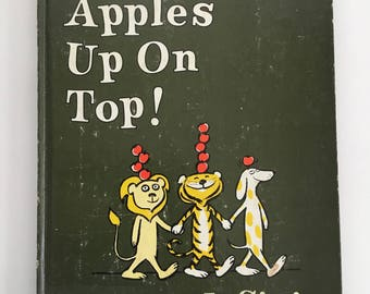 Ten Apples Up On Top by Theo LeSieg/Roy Mckie Vintage Childrens Hardback Book 1961 Edition